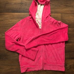 Lilly Pulitzer Velour Hoodie